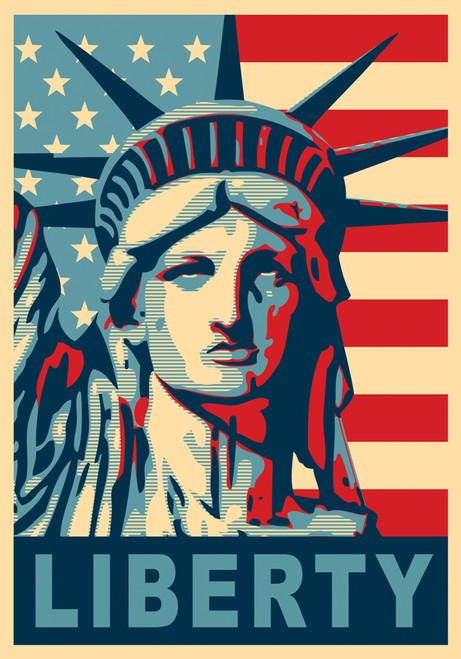 Liberty USA - Garden Flag by Serious