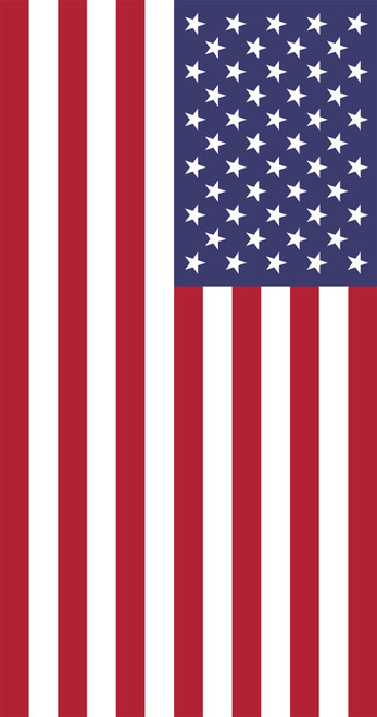 USA Flag - Garden Flag by Serious