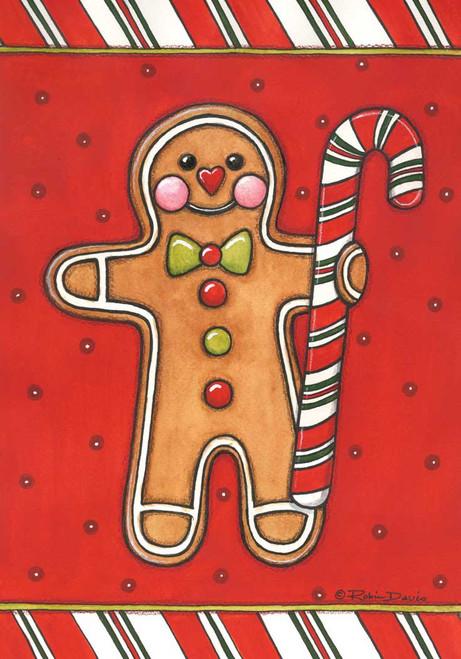 Gingerbread Man Standard Flag