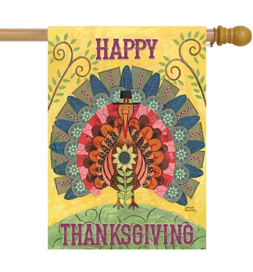 Thanksgiving - Large Garden Flag by Lang
