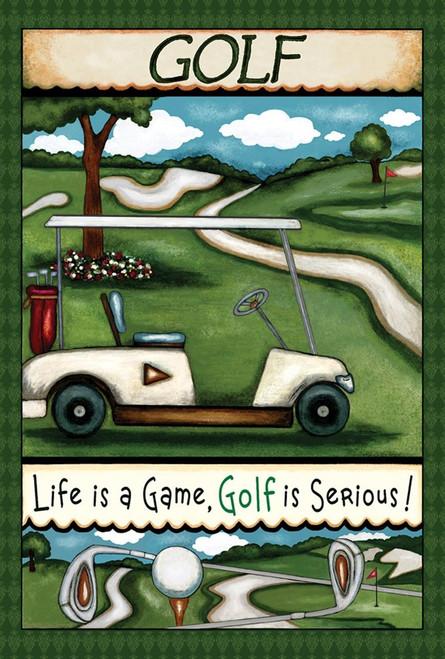 Going Golfing - Garden Flag by Toland