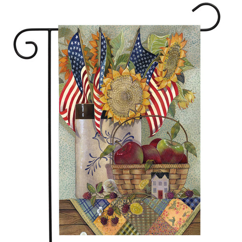American Sunflower - Garden Flag by Toland