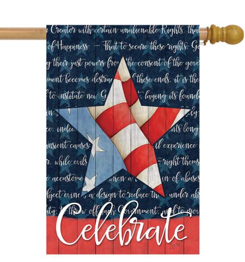 Celebrate - Large Garden Flag by Lang