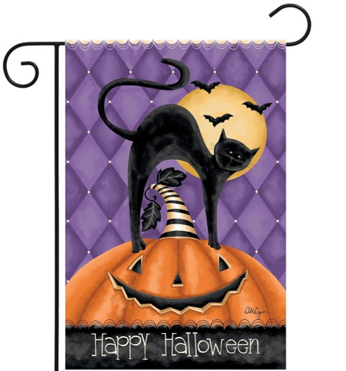 Happy Halloween - Small Garden Flag by Lang