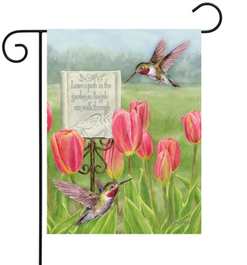 Garden Path - Small Garden Flag by Lang