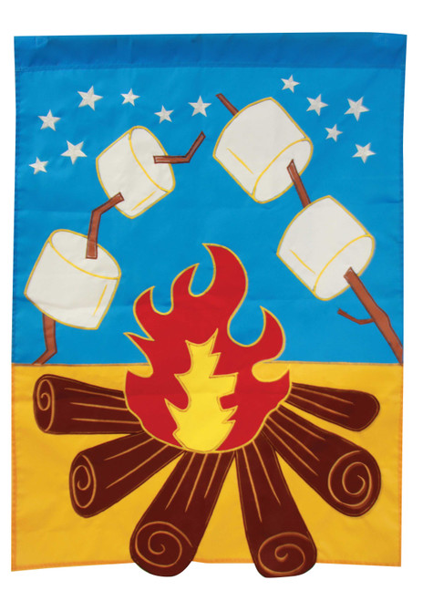 Campfire - Garden Applique Flag by Toland