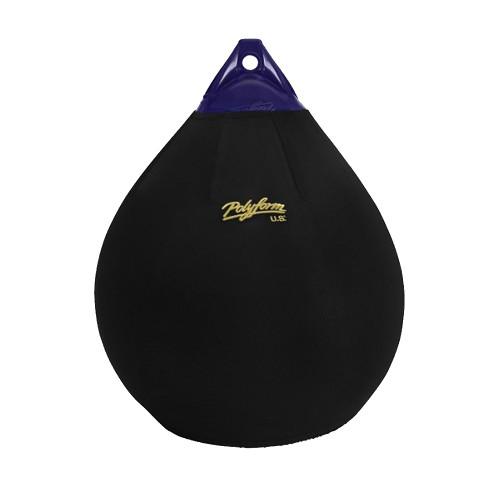 Polyform Fender Cover f\/A-3 Ball Style - Black [EFC-A3]