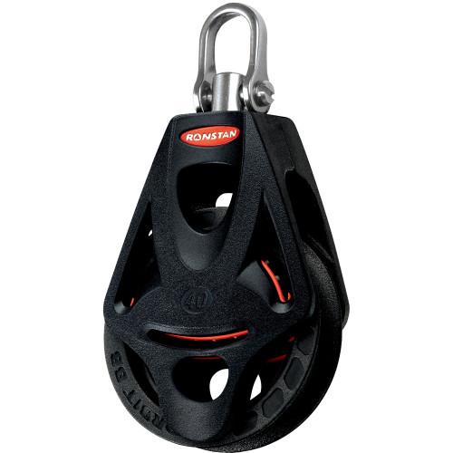 Ronstan Series 40 Ball Bearing Orbit Block - Single - Becket - Swivel Head [RF45110]