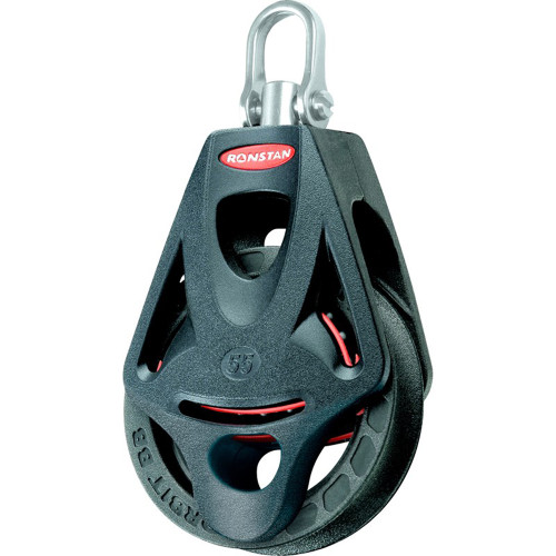 Ronstan Series 55 Ball Bearing Orbit Block - Single - Becket - Swivel Head [RF55110]