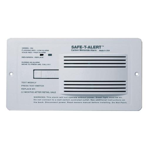 Safe-T-Alert 65 Series Flush Mount Carbon Monoxide Alarm [65-542-WHT]