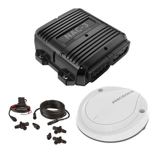 Simrad NAC-3 VRF Core Pack - NAC-3, Precision-9 & N2k Starter Kit [000-13338-001]