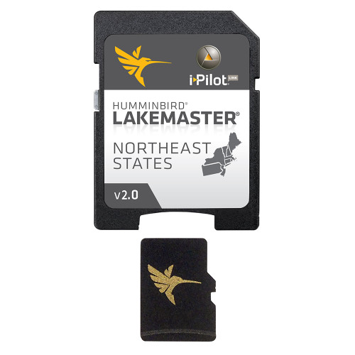 Humminbird LakeMaster Chart - NorthEast - Version 2.0 - MicroSD\/SD [600045-3]