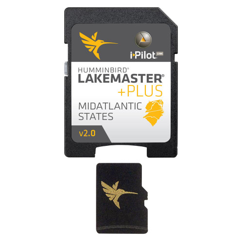 Humminbird LakeMaster Mid Atlantic States PLUS - MircoSD - Version 2.0 [600043-4]