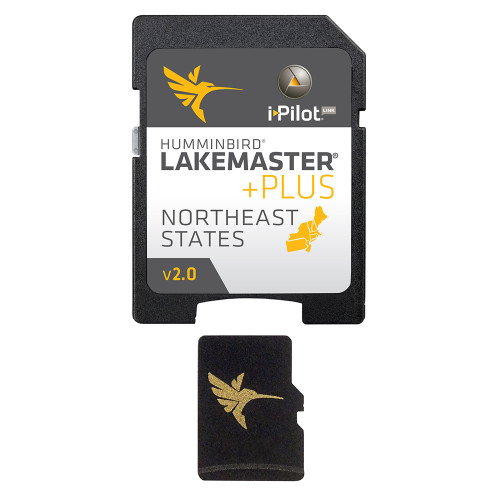 Humminbird LakeMaster Chart NorthEast States PLUS - MicroSD - Version 2 [600045-4]