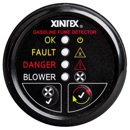 Xintex Gasoline Fume Detector & Blower Control w\/Plastic Sensor - Black Bezel Display [G-1BB-R]