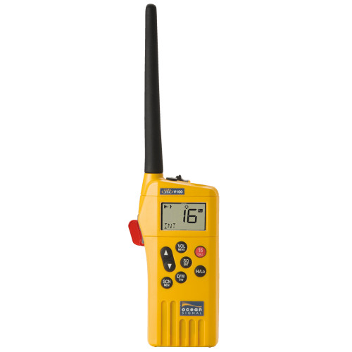 Ocean Signal SafeSea V100 GMDSS VHF Radio - 21 Channels [720S-00585]
