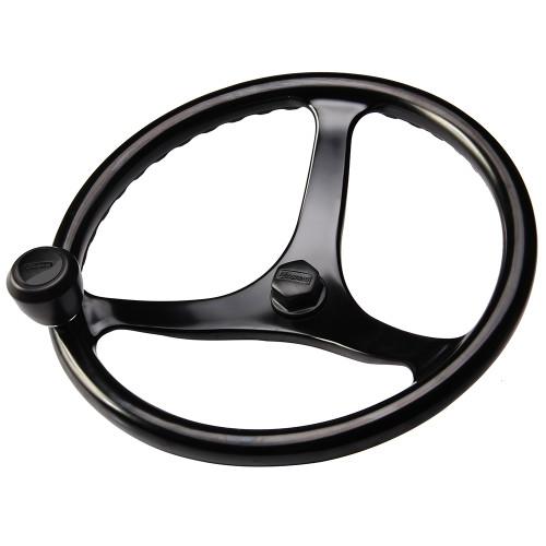 "Edson ""Special Ops"" Powerwheel - Black w\/Black Nut  Knob [1710BL-13B-KIT]"