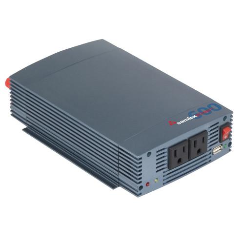 Samlex 600W Pure Sine Wave Inverter - 12V w\/USB Charging Port [SSW-600-12A]