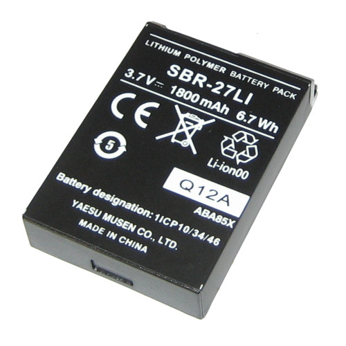 Standard Horizon Replacement Lithium Ion Battery Pack f\/HX300 [SBR-27LI]