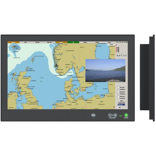 Hatteland Display Series X - Gen2 Touch Monitor f\/Furuno TZTBB [HD 24T22 MMD-MA1-FOGP]