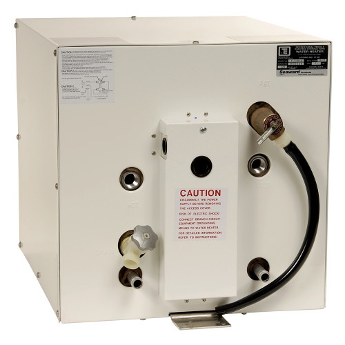 Whale Seaward 11 Gallon Hot Water Heater w\/Front Heat Exchanger - White Epoxy - 240V - 1500W [F1150W]