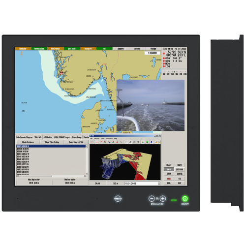 "Hatteland Series X - Generation 2 (G2) 19"" Multi-Power Touch Screen Display - AC\/DC 24V [HD 19T22 MMD-MA1-FOGP]"