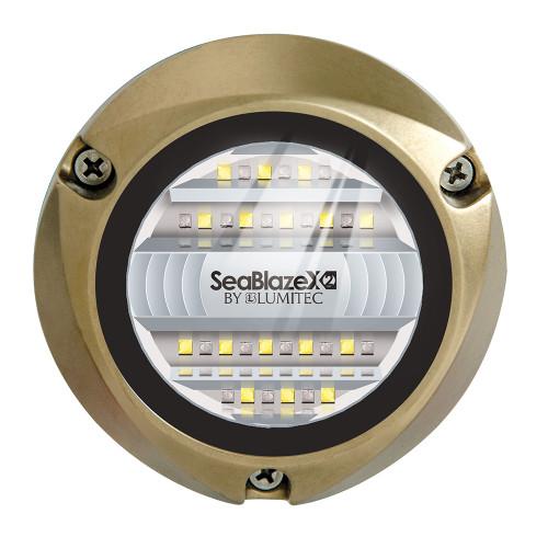 Lumitec SeaBlazeX2 LED Underwater Light - Dual Color - White\/Blue [101516]