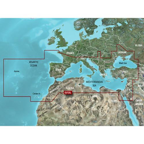 Garmin VEU723L Southern Europe BlueChart g2 Vision [010-C1157-00]