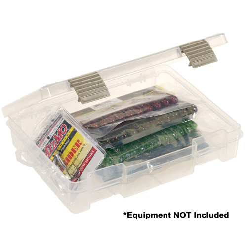 Plano ProLatch Open-Compartment Stowaway Half-Size 3700 - Clear [2371500]