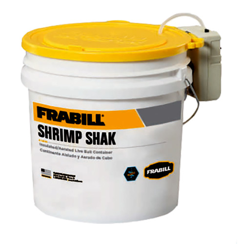 Frabill Shrimp Shak Bait Holder - 4.25 Gallons w\/Aerator [14261]