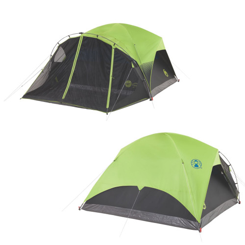 Coleman Carlsbad 6-Person Darkroom Tent w\/Screen Room [2000033190]