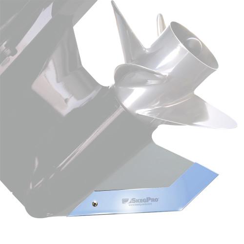 Megaware SkegPro - Stainless Steel - Evinrude\/Johnson 200 hp High Output 2003-2007, Mercury Mercruiser Bravo One 1994-up, Mercruiser Bravo Three 1992-up  Yamaha VMAX 250 HPDI -2003 [02667]