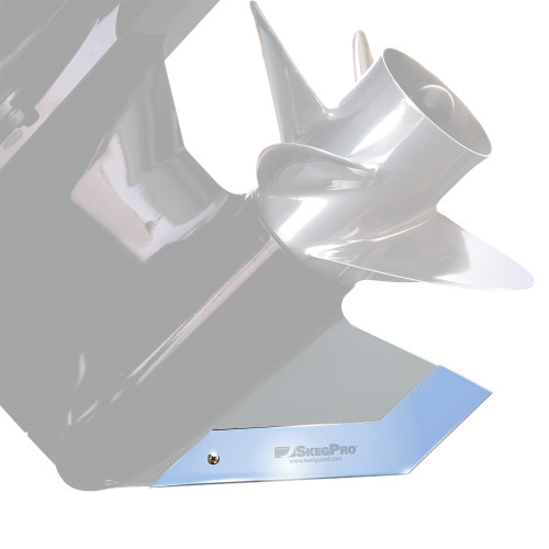 Megaware SkegPro - Stainless Steel - Mercury Mercruiser Bravo Two 1994-up [02668]
