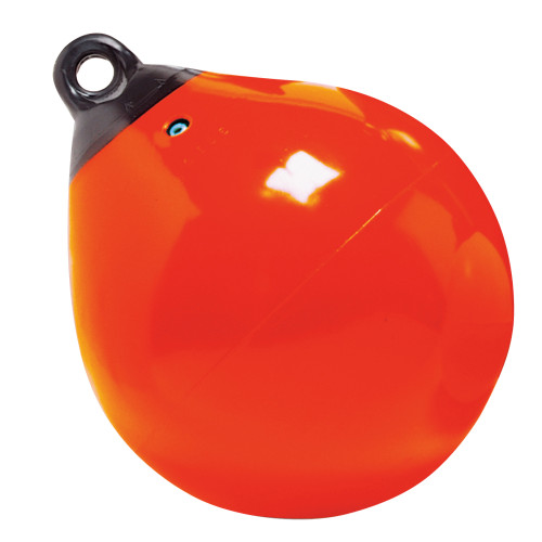 "Taylor Made 9"" Tuff End Inflatable Vinyl Buoy - Orange [61140]"