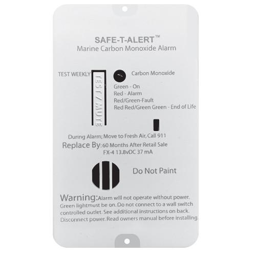 Safe-T-Alert FX-4 Carbon Monoxide Alarm [FX-4]