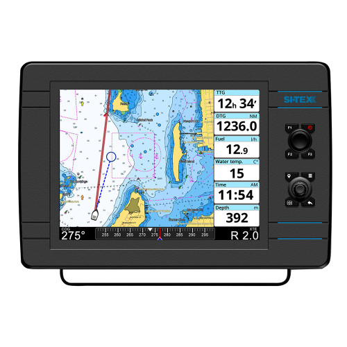 SI-TEX NavPro 1200F w\/Wifi  Built-In CHIRP - Includes Internal GPS Receiver\/Antenna [NAVPRO1200F]