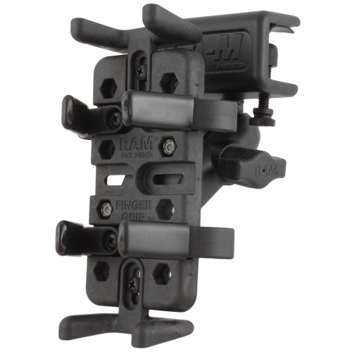 RAM Mount Universal Finger Grip Glare Shield Clamp Mount [RAM-B-177-UN4]