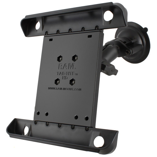 RAM Mount Tab-Tite iPad \/ HP TouchPad Cradle Twist Lock Suction Cup Mount [RAM-B-166-TAB3U]