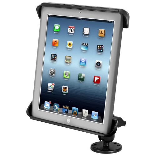 RAM Mount Tab-Tite iPad \/ HP TouchPad Cradle Flat Surface Mount [RAM-B-138-TAB3U]
