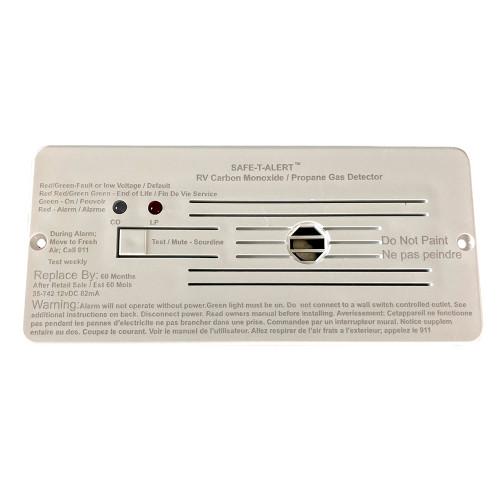 Safe-T-Alert Combo Carbon Monoxide Propane Alarms Flush Mount - White [35-742-WHT]