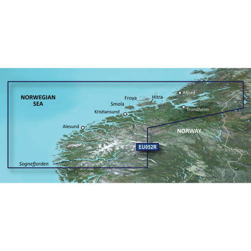 Garmin BlueChart g2 Vision HD - VEU052R - Sognefjorden - Svefjorden - microSD\/SD [010-C0788-00]