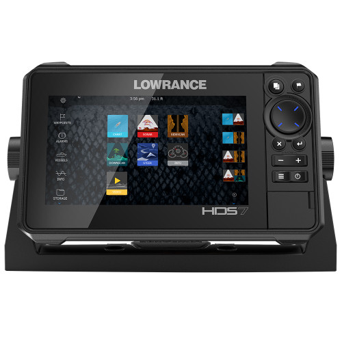Lowrance HDS-7 LIVE w\/Active Imaging 3-in-1 Transom Mount  C-MAP Pro Chart [000-14416-001]