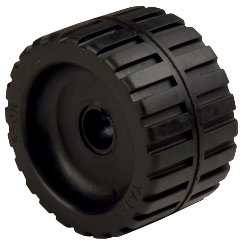 "C.E. Smith Ribbed Wobble Roller 5-3\/4""ID w\/Bushing Black [29535]"
