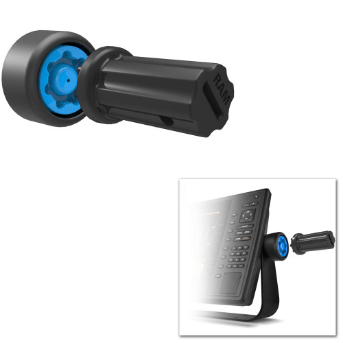 RAM Mount Pin-Lock Security Knob f\/ Gimbal Brackets [RAP-S-KNOBGU]