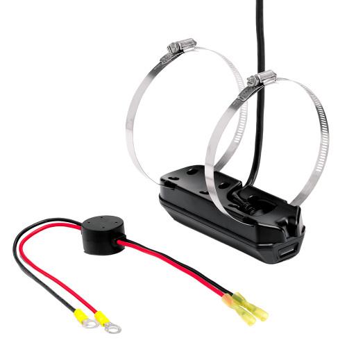 Humminbird XTM-14-HW-MDI-T MEGA DI+ Dual Spectrum CHIRP Trolling Motor Transducer w\/Temp f\/SOLIX [710291-1]