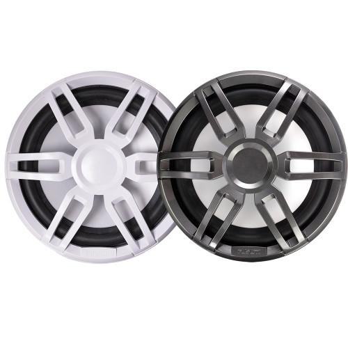"FUSION XS-SL10SPGW XS Series 10"" 600 Watt Sports Marine Subwoofer - Sports White  Grey Grill Options [010-02198-20]"
