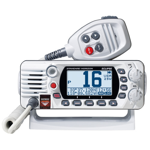 Standard Horizon GX1400G Fixed Mount VHF w\/GPS - White [GX1400GW]