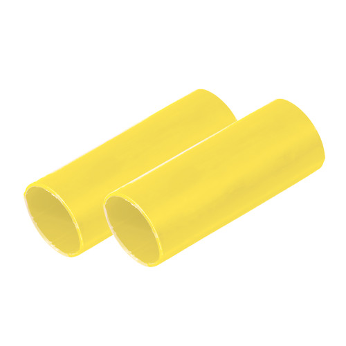 "Ancor Battery Cable Adhesive Lined Heavy Wall Battery Cable Tubing (BCT) - 1"" x 12"" - Yellow - 2 Pieces [327924]"