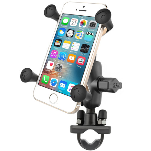 RAM Mount X-Grip Phone Mount w\/Handlebar U-Bolt Base [RAM-B-149Z-A-UN7U]