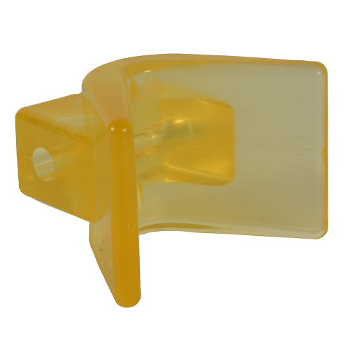 "C.E. Smith Y-Stop 3"" x 3"" - 1\/2"" ID Yellow PVC [29554]"